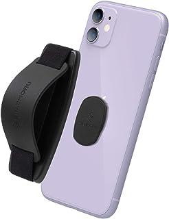 Sinjimoru 無線充電対応スマホストラップ、いつどこでも動画視聴できるシリコンスマホスタンド付きのスマホ落下防止ハンドグリップ、取り外しできるiPhone androidスマホ、スマホケース対応バンド型のスマホリング。Sinji Moun...