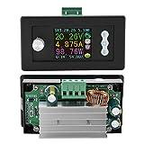 Fuente de alimentación reductora, regulador de fuente de alimentación Potente ajustable con pantalla LCD para control Regulador de corriente de voltaje reductor Fuente de alimentación para