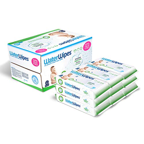 Price comparison product image WaterWipes,  Sensitive Baby Wipes,  Unscented,  9 Packs,  540 Wipes