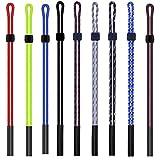 Longsing Correa de Gafas Correa para Gafas Ajustable del Cordón de la Lente de Cuero de la Eyewear Cord Eyewear Rope 9 PCS