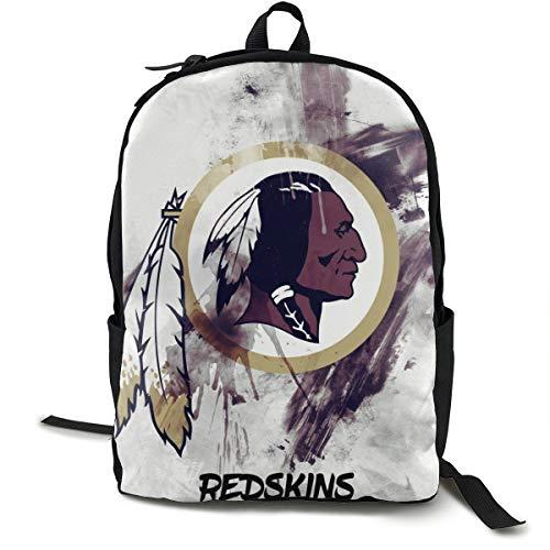 Wa-Shington Re-Dskin Fashionable Multifunction Casual Unisex School Bags Laptop Backpack Travel Bookbag College Shoulders Backpack