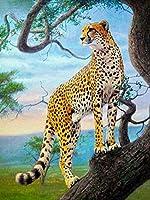 NC56 B デジタルペインティングキットカラフルな花デジタルペインティングDIYオイルペイント大人の初心者のための絵画ウォールアート画像40x50cm