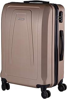 Mala de Viagem Media em ABS com 4 Rodas 360 - Roncalli Laddy (Dourada)
