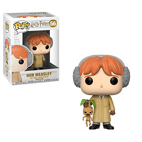 Funko Pop! Harry Potter: Ron Weasley en clase de Herbología