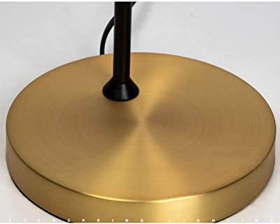 Brightech Owen Side Table With Attached Led Lamp Mid