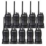 Case of 10,Retevis RT21 Updated 3000mAh 2 Way Radio Rechargeable, Heavy Duty Two Way Radio Long Range, 16CH VOX Handfree Adults Walkie Talkies for Business Retail Contractor Agriculture