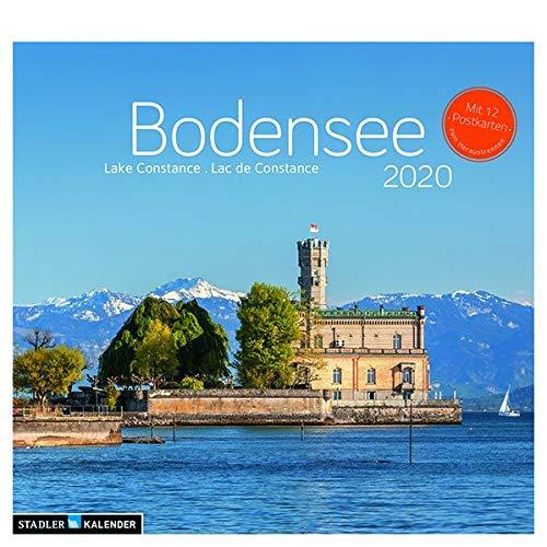 Bodensee 2020: Postkarten-Tischkalender