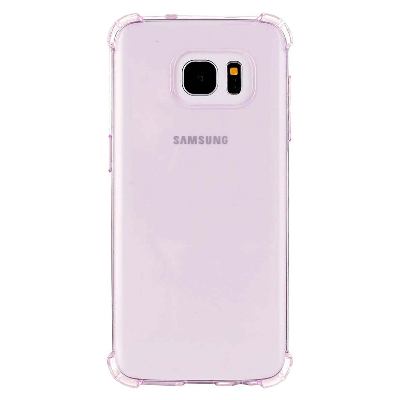 系統的翻訳者化学者Galaxy S7 / G930用耐衝撃クッションTPU保護ケース(ブラック)New Yikaja (色 : 紫の)
