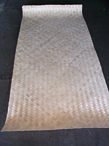 BIHL Bambusmatte Bambusflechtmatte Platte Bambus Verkleidung Rattan 100 x 200 cm