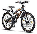 Licorne Bike Strong D 26 Zoll Mountainbike Fully