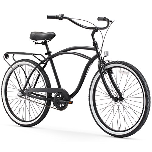 sixthreezero Around The Block Men's 3-Speed Beach Cruiser Bicycle, 26