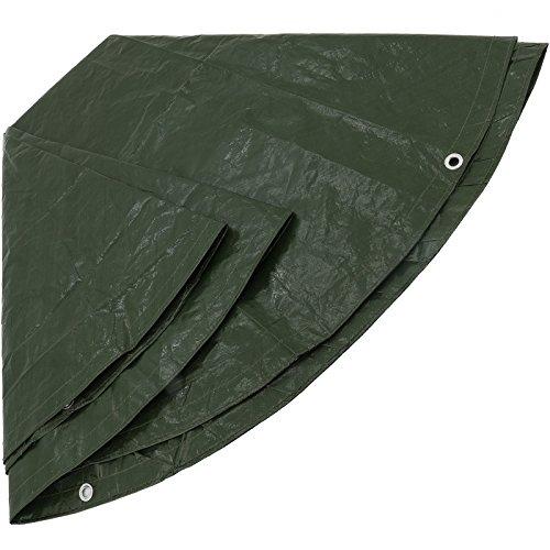 Bâche de protection pour PE rond Ø 3 m Vert Type 480300