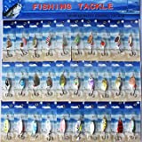 SLB Works Brand New 30x PACKAGE Assorted Metal Baits Fishing Spinners Lures Salmon