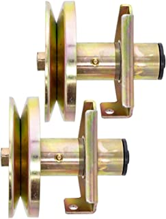8TEN 2pk Deck Spindle Assembly for John Deere Sabre Scotts 38 Inch 42 Inch Deck LT160 LT180 AM121324 AM126225 GY00038