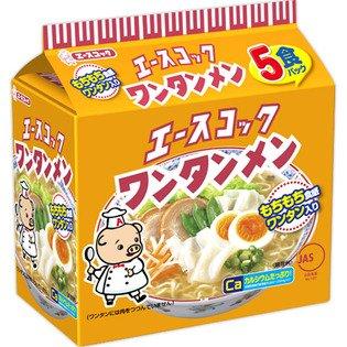 エースコック ワンタンメン 5食 ×2個