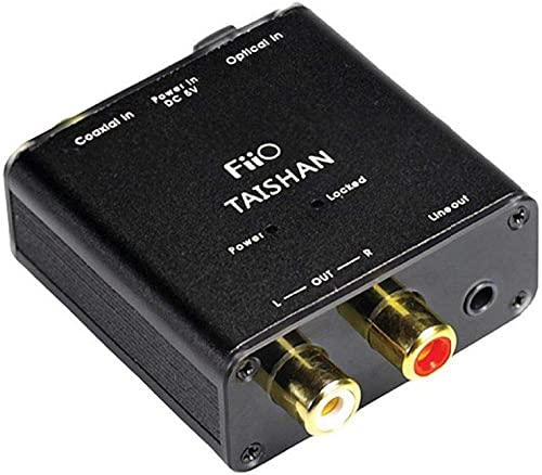 FiiO D3 (D03K) Essential Edition Digital to Analog Audio Converter - 192kHz/24bit Optical and Coaxial DAC - Without AC Adaptor product image