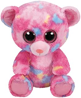 Ty Beanie Boos Franky - Pink Multicolored Bear med