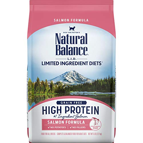 5-Lbs Natural Balance L.I.D. High Protein Dry Cat Food (Salmon) $10.20 w/ S&S + Free Shipping w/ Amazon Prime or Orders $25+