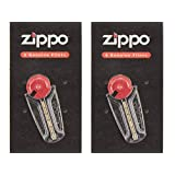 ZIPPO ジッポ ライター用 フリント 着火石 替え石(6石入)×2個セット