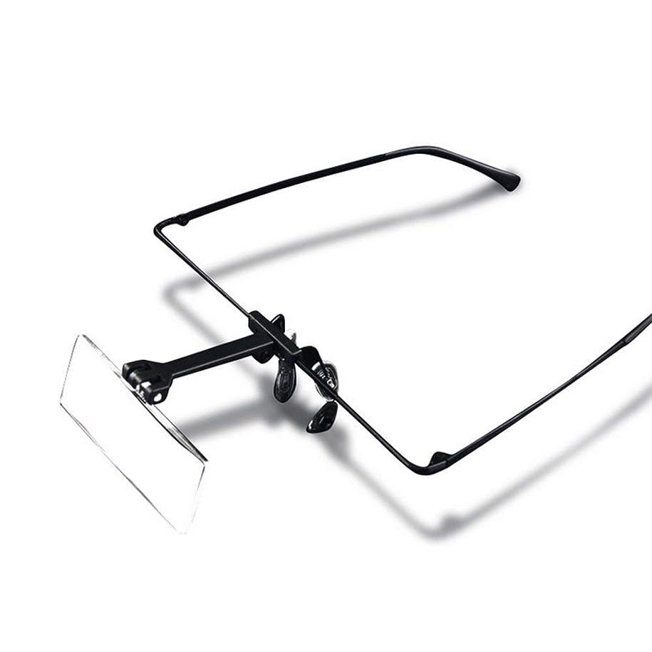 哲学素晴らしいです署名ヘッドセット拡大鏡1.5×2.5×3.5×HD老眼鏡用ルーペ/アマチュア/読書図書/腕時計修理/モデル倍率