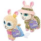 Who's Your Llama Collectible Plush Friends [Amazon Exclusive], Mermaid & Safari Llama