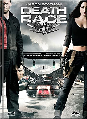 Death Race - Mediabook - Cover A - Limited Edition auf 250 Stück - Extended Version (+ DVD) [Blu-ray]