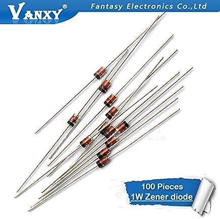 100 x 1.2M Resistors 5/% 1//4W E12 Series Resistor CR25