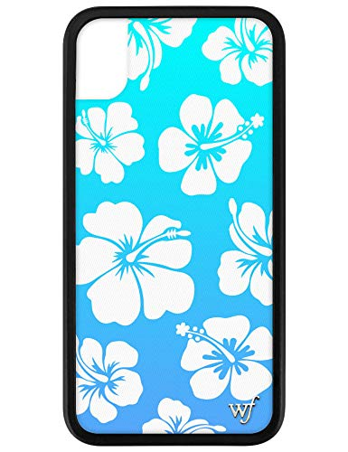 Wildflower Limited Edition Cases for iPhone XR (Blue Hibiscus)
