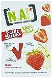 NA! NATURE ADDICTS Sachet de Fruit Stick Fraise 40 g