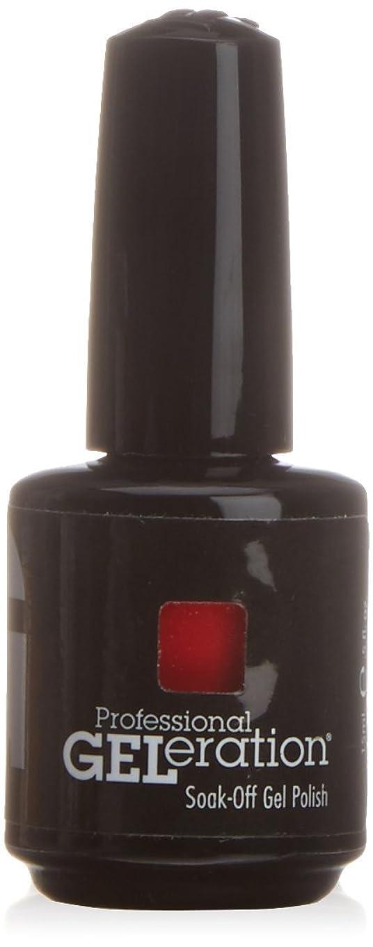 アルカイック流行ブルジェレレーションカラー GELERATION COLOURS 997 フレーミング 15ml UV/LED対応 ソークオフジェル