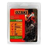 Ozaki - Cadena de Motosierra, semicuadrada, Debajo de la Cubierta: 325'.050 (1,3 mm), 64 Entrenadores, Longitud: 38 cm