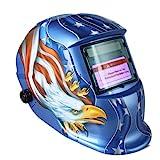KKmoon Arc Tig Mig Grinding Eagle, Máscara de soldador de soldador de oscurecimiento automático...
