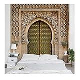 Apalis 95427 Papier peint intissé motif porte orientale, grand format, Beige, beige,...