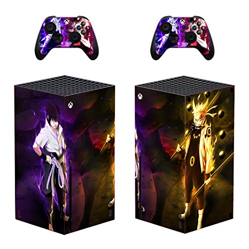 Shinobi Anime Decals Stickers Full Set Faceplate Skin for X-box-One-Series X Protection Kit by KAJAL MANI