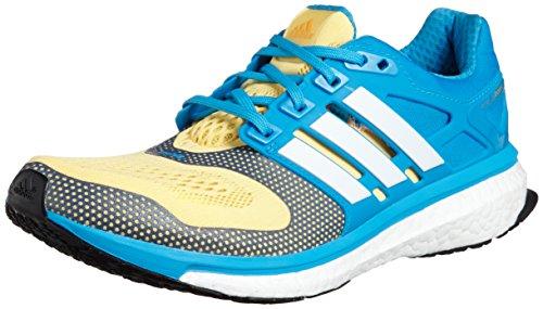 adidas Performance ENERGY BOOST 2 ESM Zapatillas para Correr Running Azul Amarillo para Hombre Techfit