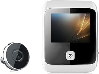 Mugast Digitaler T/ürspion,5 Zoll OLED Display Digitale T/ürspion Kamera mit 160/° Weitwinkelkamera,T/ürklingel 1MP HD 720P Video Foto T/ürspion Bewegungserkennung//Nachtsicht f/ür 40-110mm T/ürst/ärken