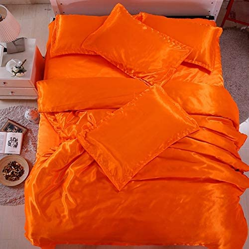 Reliable Bedding Factory outlet Silk Satin A surprise price is realized Sheets Set T