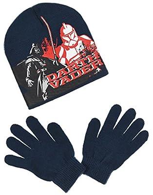 Bonnet et gants enfant garçon Star Wars 3 coloris, de 3 à 9 ans