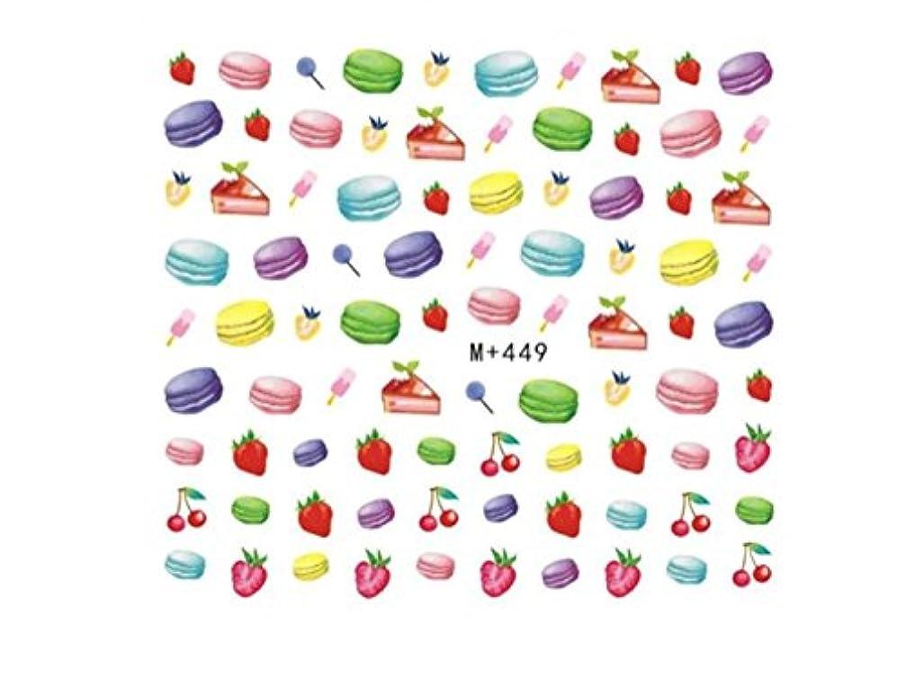 Osize フルカバーネイルアートのヒントペーパープレデザインプレスフルーツマニキュアネイルステッカー(カラフル)
