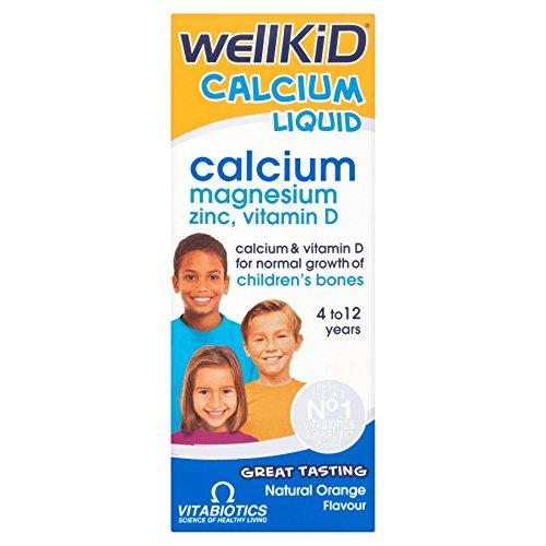 Vitabiotics Wellkid Calcium Liquid 150ml