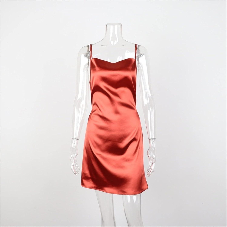 GDYJP Womens Camisole Night Club Opening Oklahoma City Mall large release sale Dress Women Satin Homewear Summ