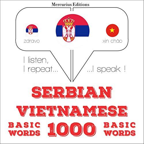 『Serbian - Vietnamese. 1000 basic words』のカバーアート