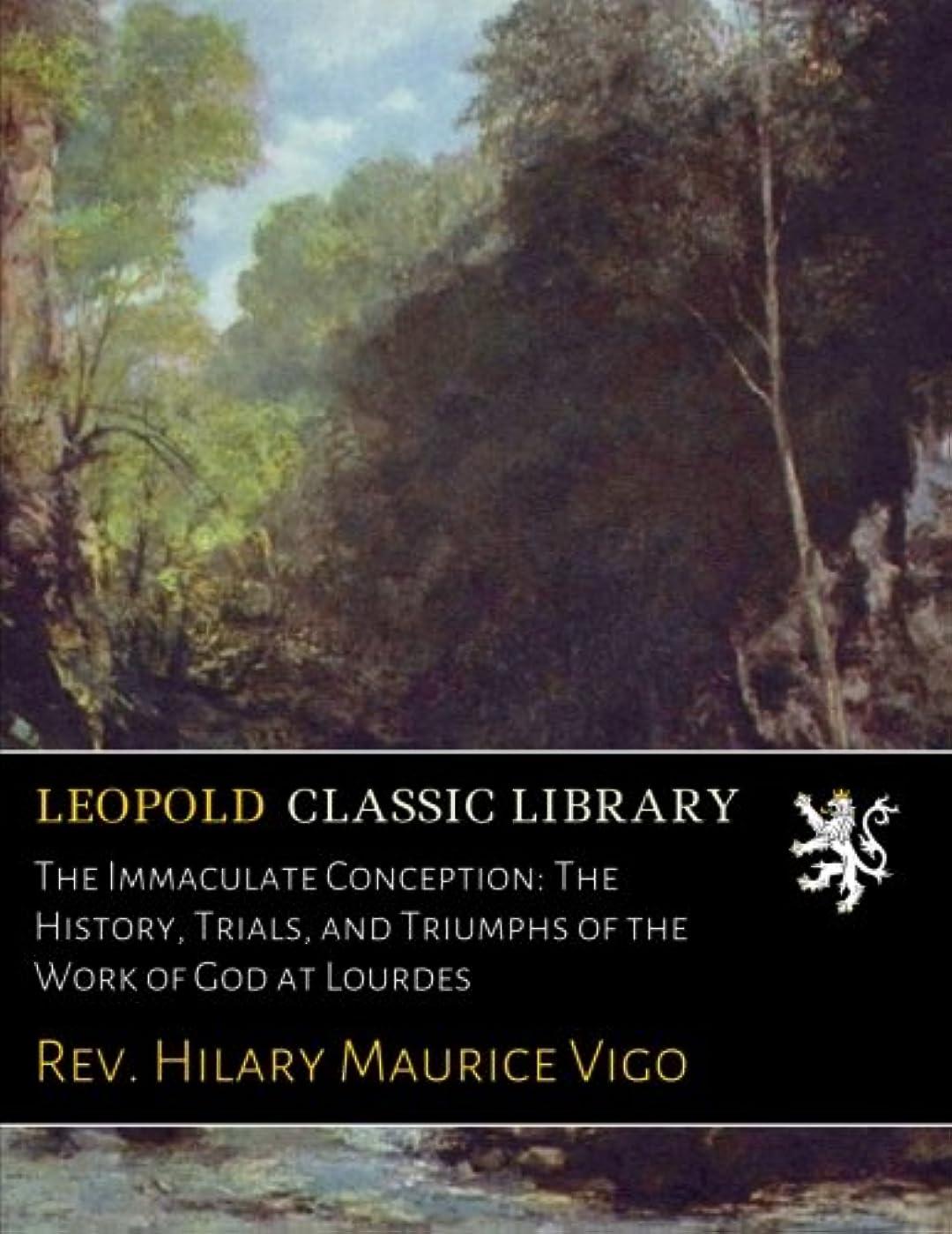 ギャップシェア意図するThe Immaculate Conception: The History, Trials, and Triumphs of the Work of God at Lourdes