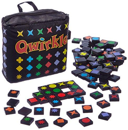 Schmidt Spiele 10V60402680V10 49270 Qwirkle Travel, Spiel des Jahres 2011 als Reisespiel, bunt