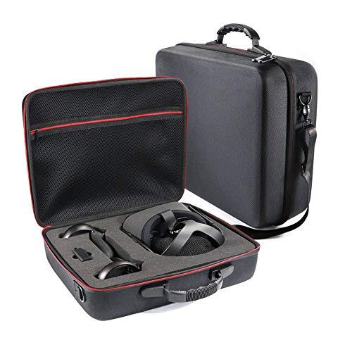 Euopat Hartschalenkoffer, Aufbewahrungsbox mit Schultergurt, Reisetasche Kompatibel mit dem Oculus Quest All-in-One-VR-Gaming-Headset