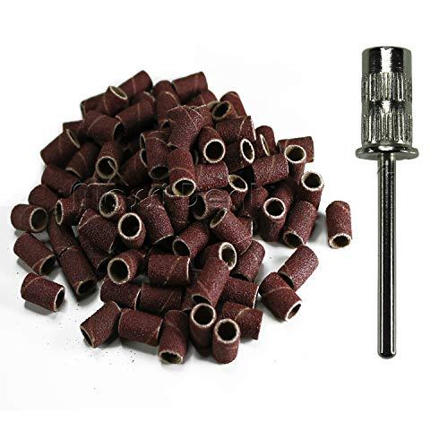 200 Schleifhülsen - Schleifbänder + 1 Mandrel - Körnung #240 fein