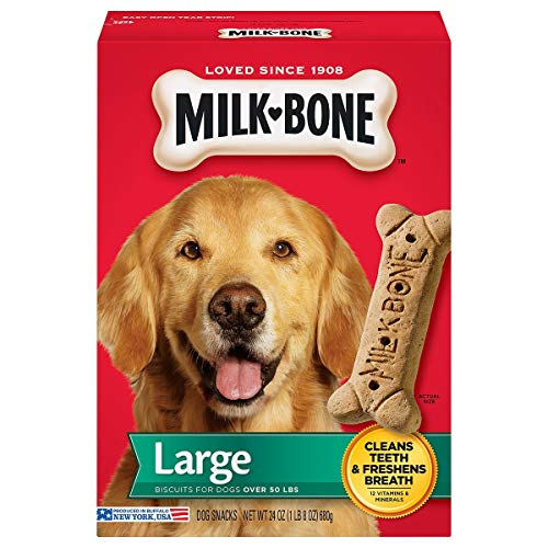 Milk-Bone Original Dog Treats Biscuits for Large Dogs, 24 Ounces