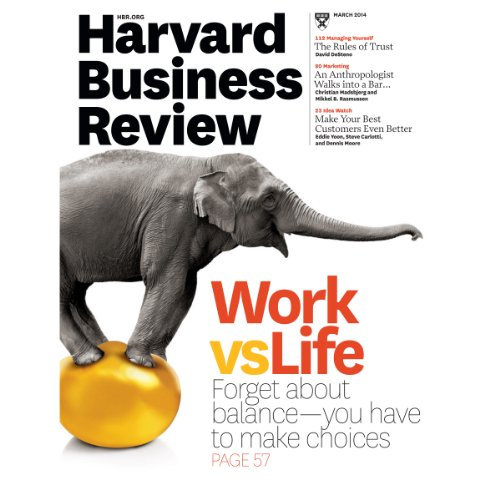 Harvard Business Review, March 2014 audiobook cover art