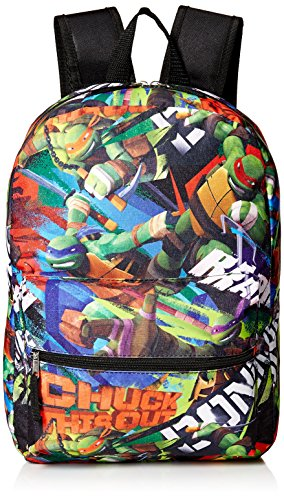 Nickelodeon Boys' Tmnt Chuck This Out 16' Backpack