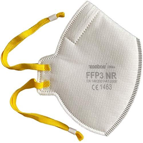 20x Faltbare FFP3 Atemschutzmaske DreamCan Staubmaske Schutzmaske - Höchste Filterklasse 99% Filter - ohne Ventil - überall einsetzbar - luftdicht einzeln verpackt
